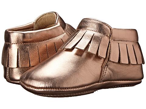 Old Soles Fringe Boot (Infant/Toddler) - Copper