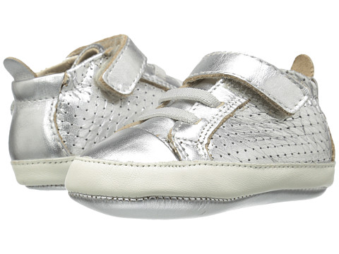 Old Soles Cheer Bambini (Infant/Toddler) - Silver/White