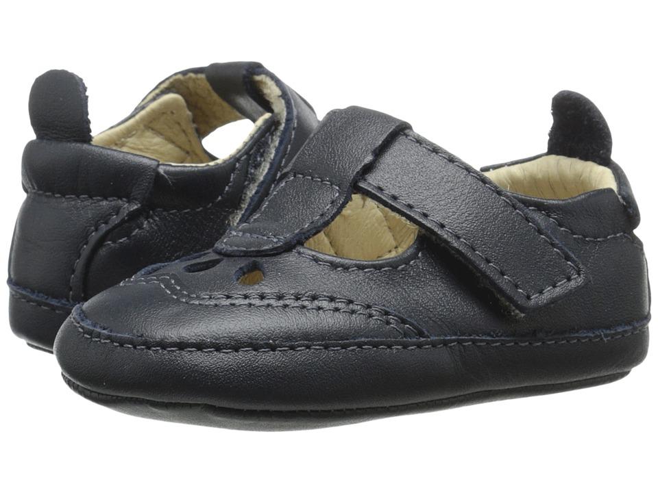 Old Soles Petite Petal Infant/Toddler Navy Girls Shoes