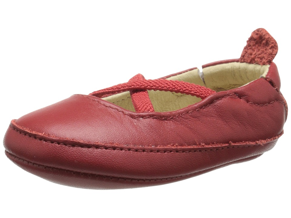 Image of Old Soles - Ballet Cross (Infant/Toddler) (Red) Girl's Shoes