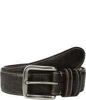 Torino Leather Co. - 40mm Croc Tail Embossed Calf w/ Nickel Buckle