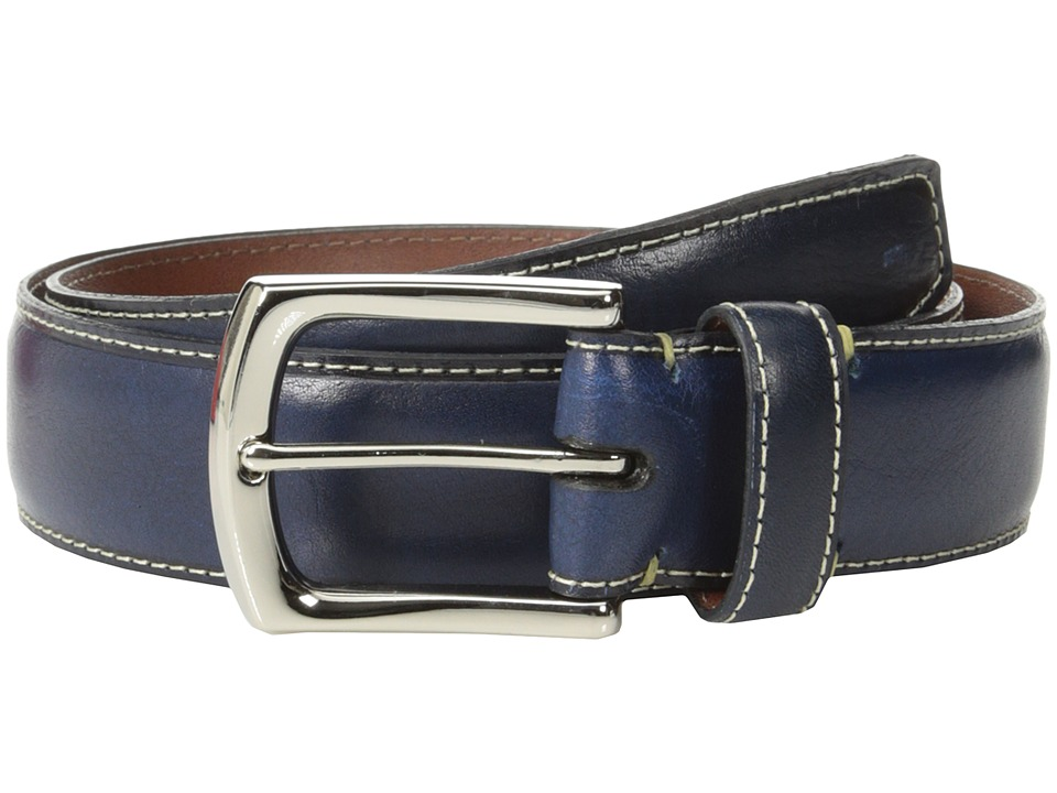 torino belts burnished leather belt