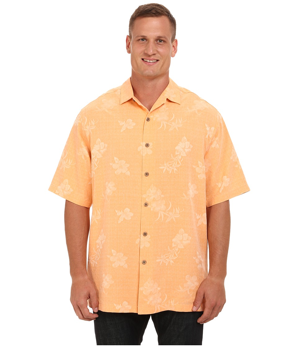 Tommy Bahama Big amp Tall Big Tall Aloha Floral Short Sleeve Light Sizzle Mens Clothing