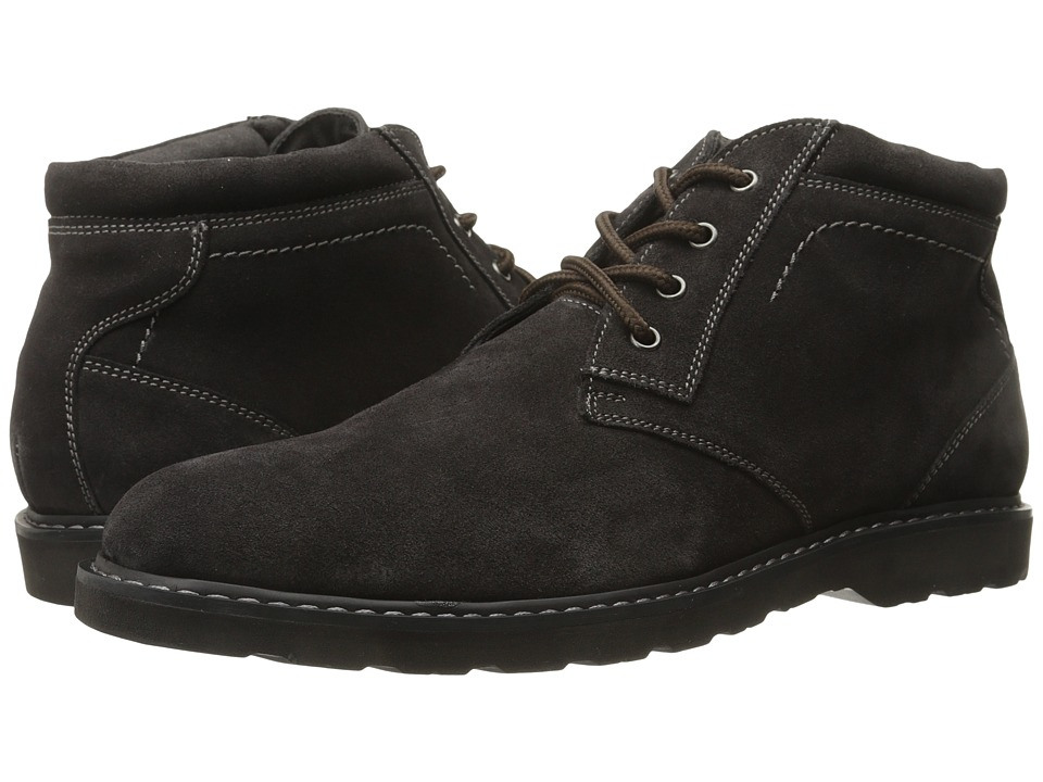 Nunn Bush Tomah Plain Toe Chukka Boot (Brown Suede) Men
