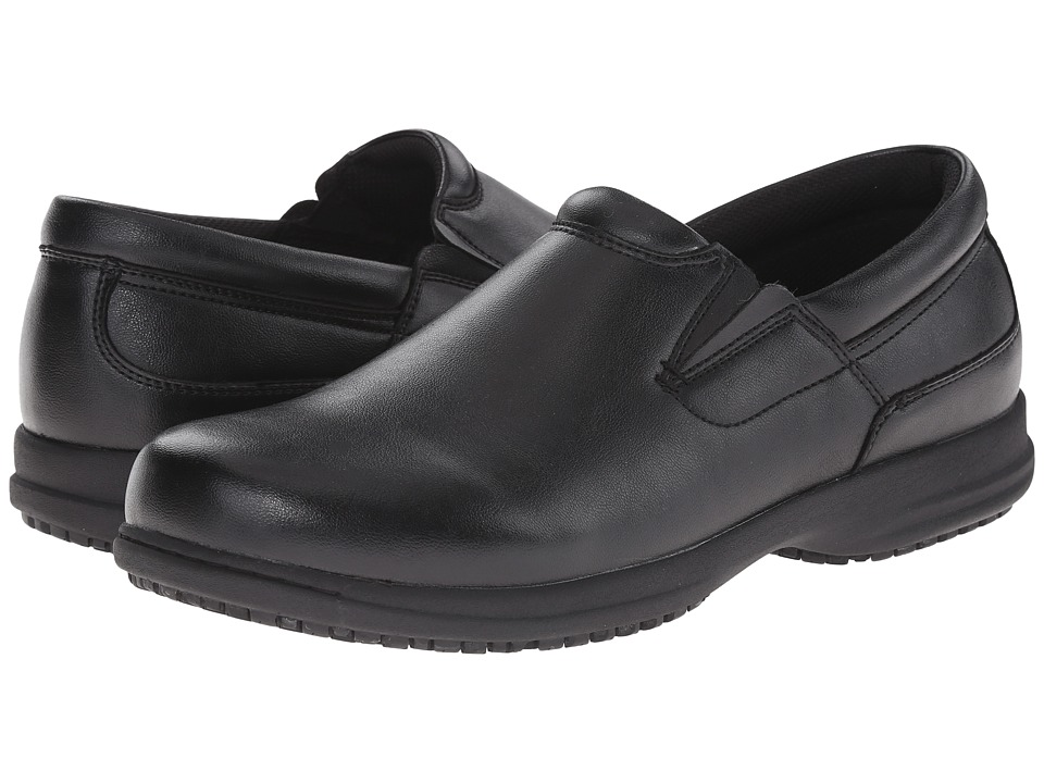 Nunn Bush Sven Slip-Resistant Plain Toe Slip-On (Black) Men