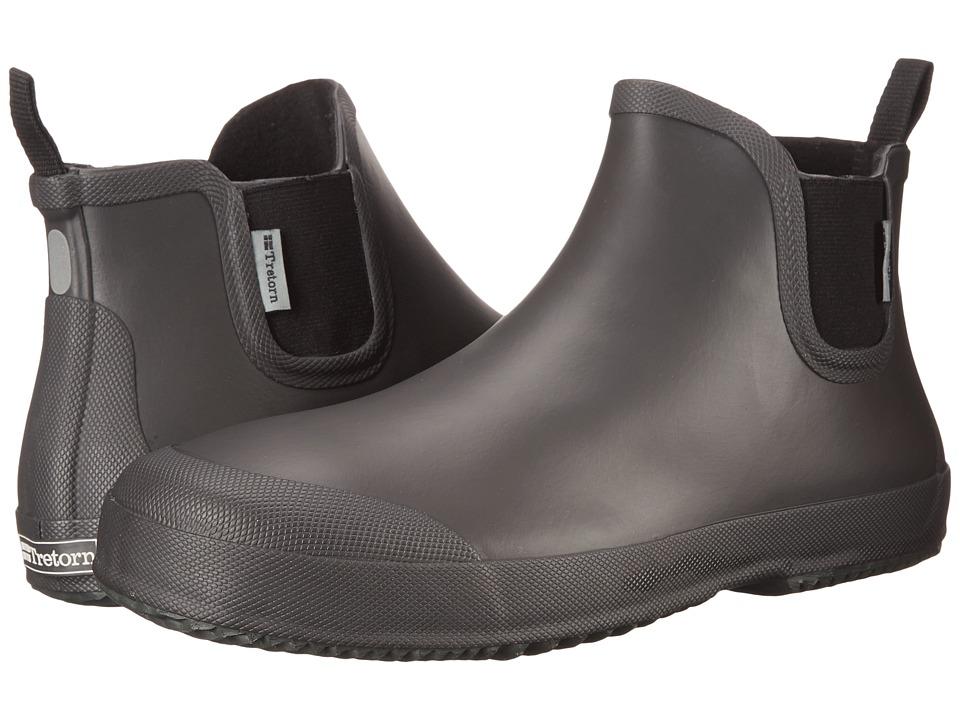 Tretorn Bo Grey Mens Rain Boots