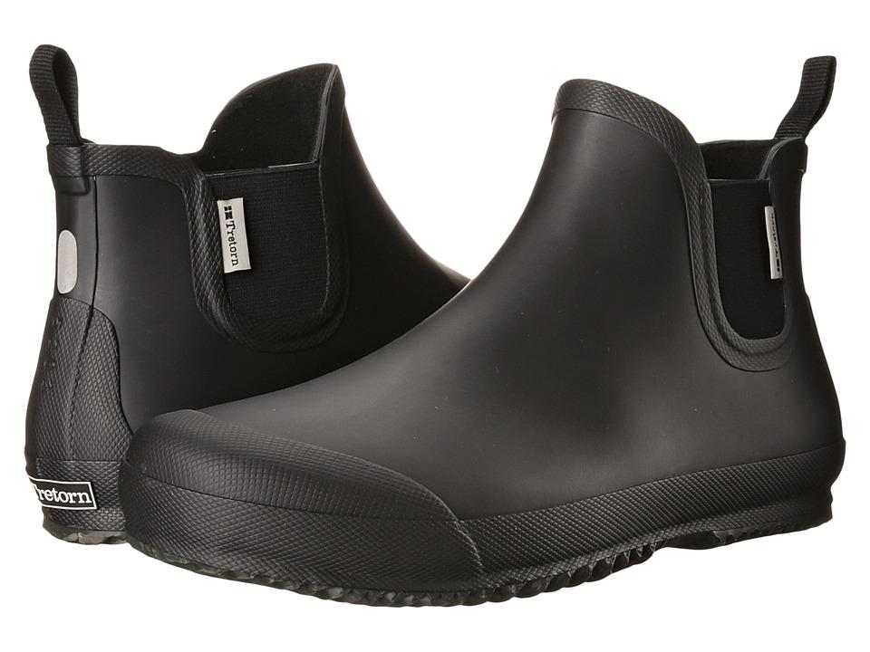 Tretorn Bo Black Mens Rain Boots