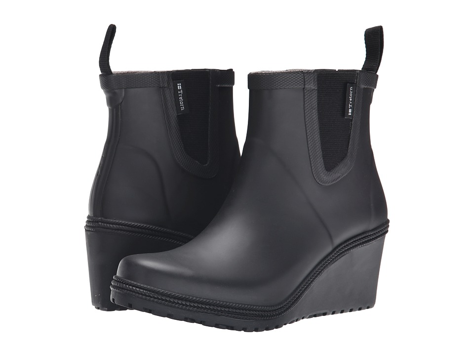 Tretorn Emma Black Womens Rain Boots