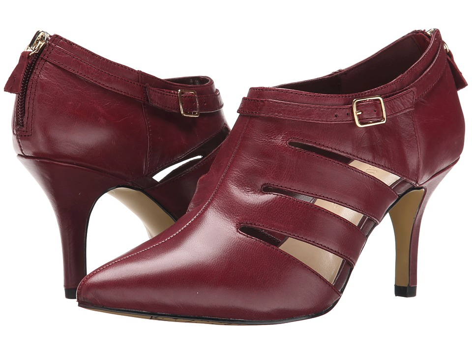 Bella Vita Dylan Burgundy High Heels