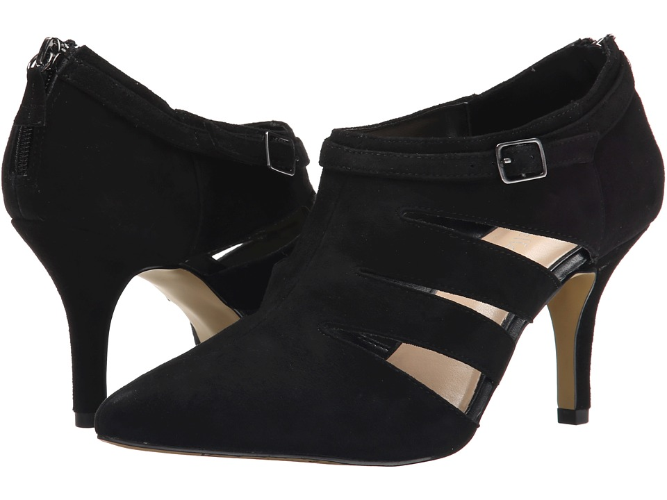 Bella Vita Dylan Black Suede High Heels