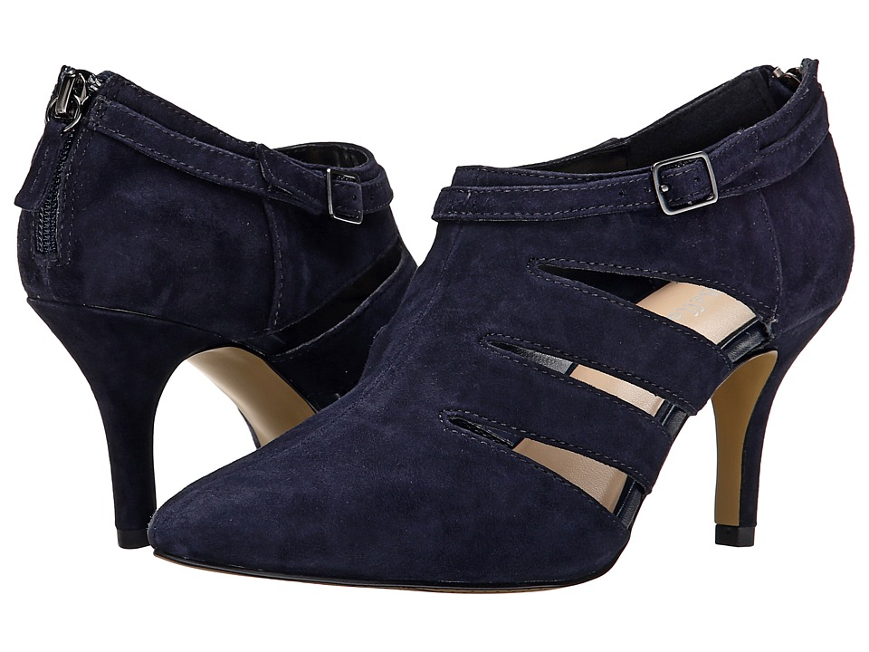 Bella Vita Dylan Navy Suede High Heels