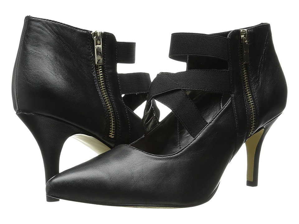 Bella Vita Diza Black/Black Gore High Heels
