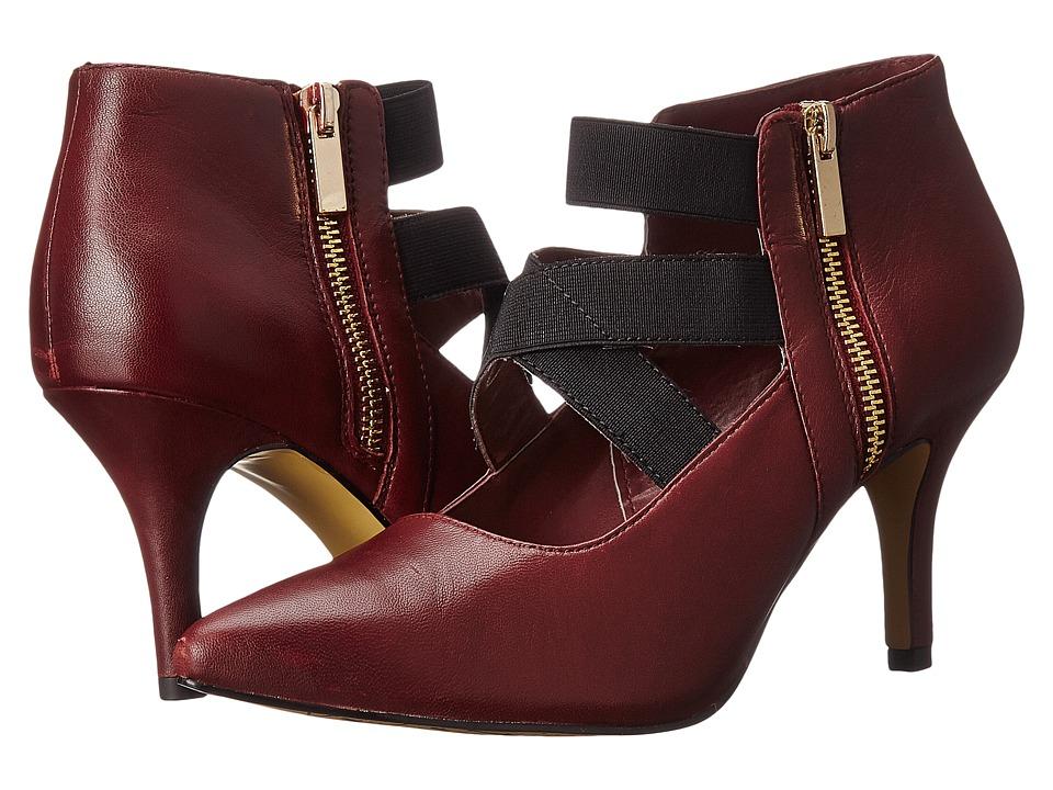 Bella Vita Diza Burgundy/Black Gore High Heels