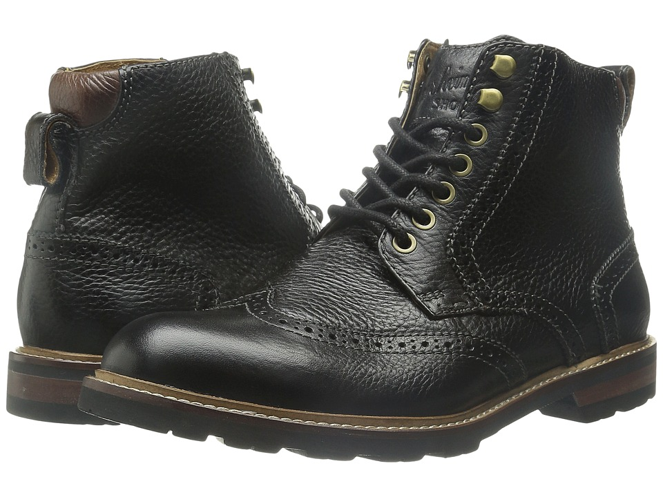 Florsheim Kilbourn Wingtop Boot (Black Milled) Men