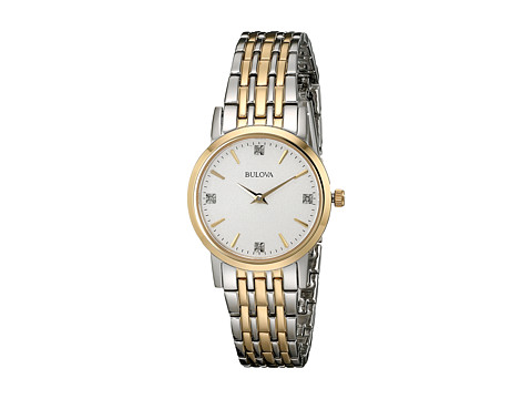 Bulova Diamonds - 98P115 - Two-Tone