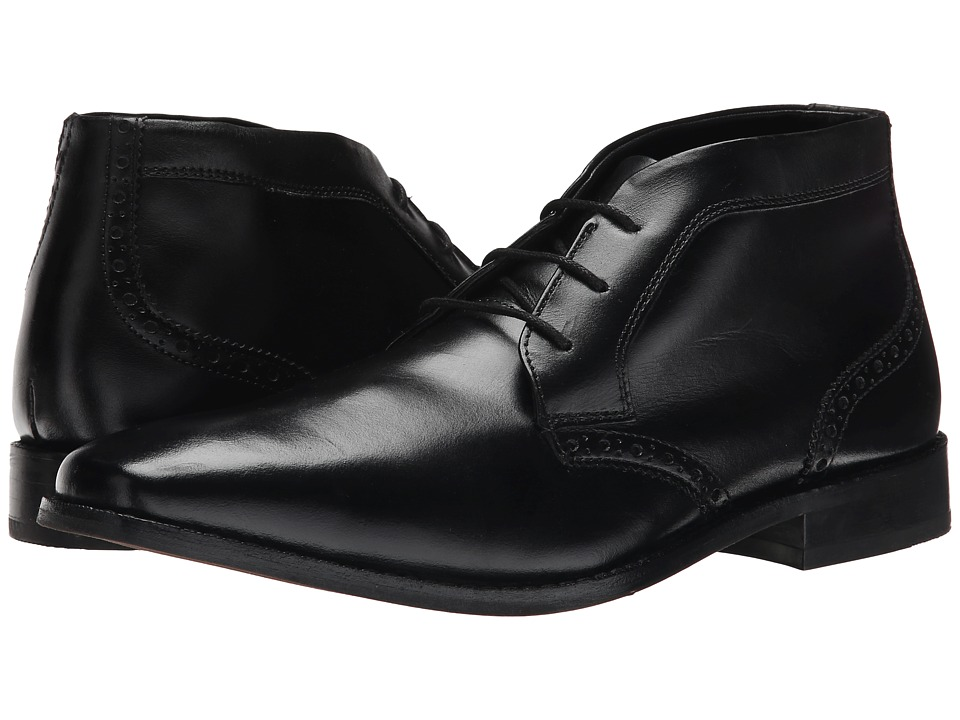 Florsheim Castellano Chukka Boot (Black Smooth) Men