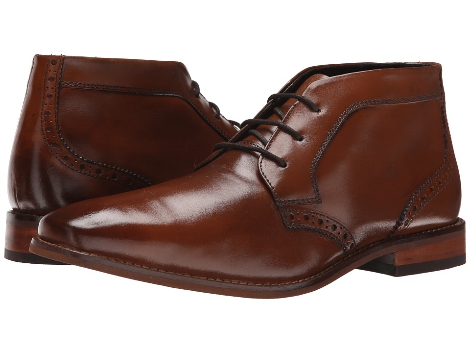 Florsheim Castellano Chukka Boot (Saddle Tan Smooth) Men
