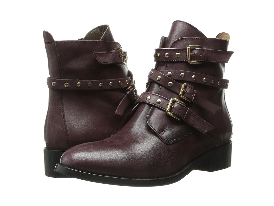 Bella-Vita Mod-Italy (Burgundy Leather) Women