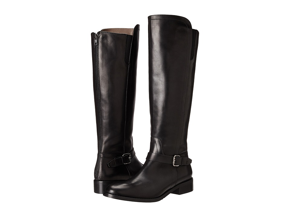 Bella Vita Esa Italy Black Leather Womens Boots
