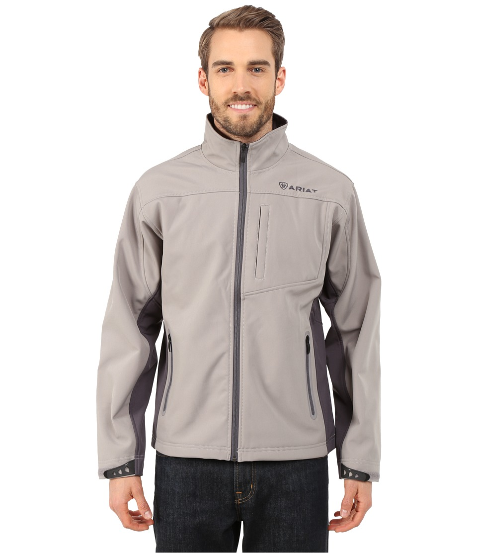 Ariat - Vernon Softshell Jacket (Cloudburst) Men