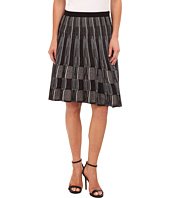 NIC+ZOE - Cascading Squares Wink Skirt