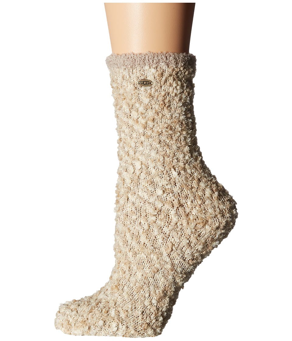 UGG - Cozy Chenille Socks (Cream) Women