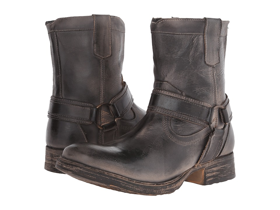 Bed Stu Colville Black Rustic Rust Mens Boots