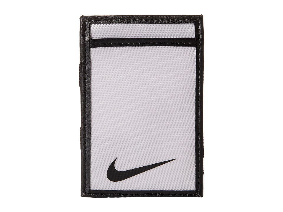 Nike - Tech Essential Magic Wallet (White) Wallet Handbags