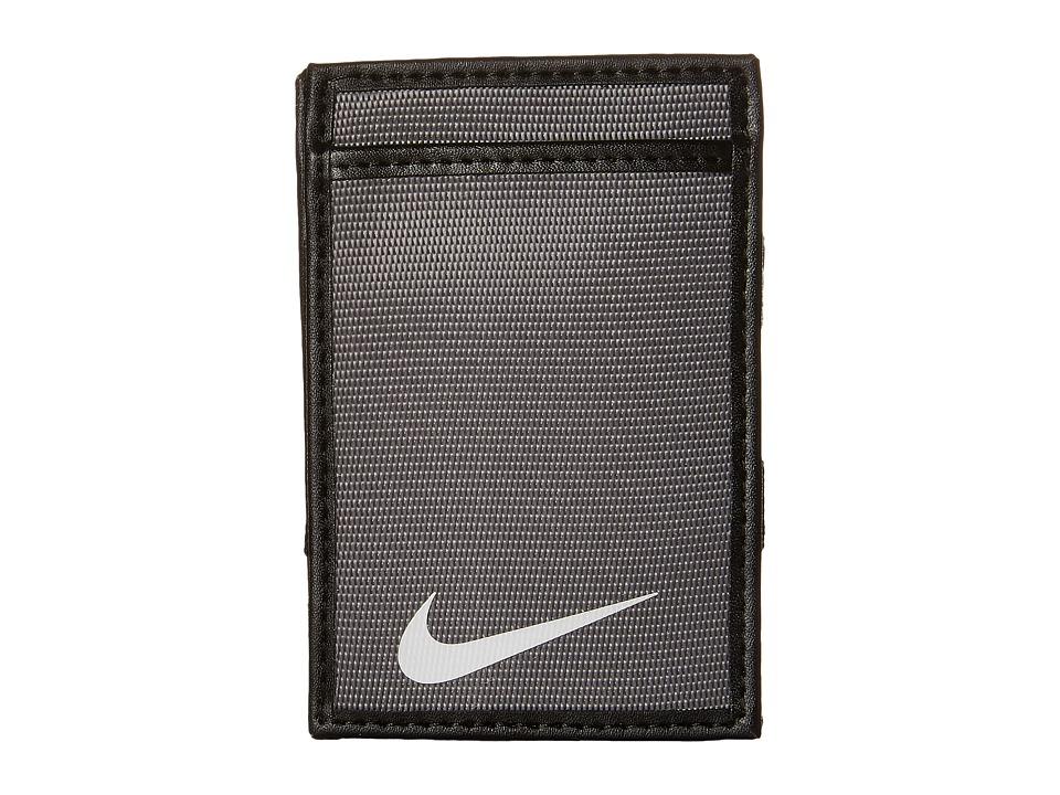 Nike - Tech Essential Magic Wallet (Light Charcoal) Wallet Handbags