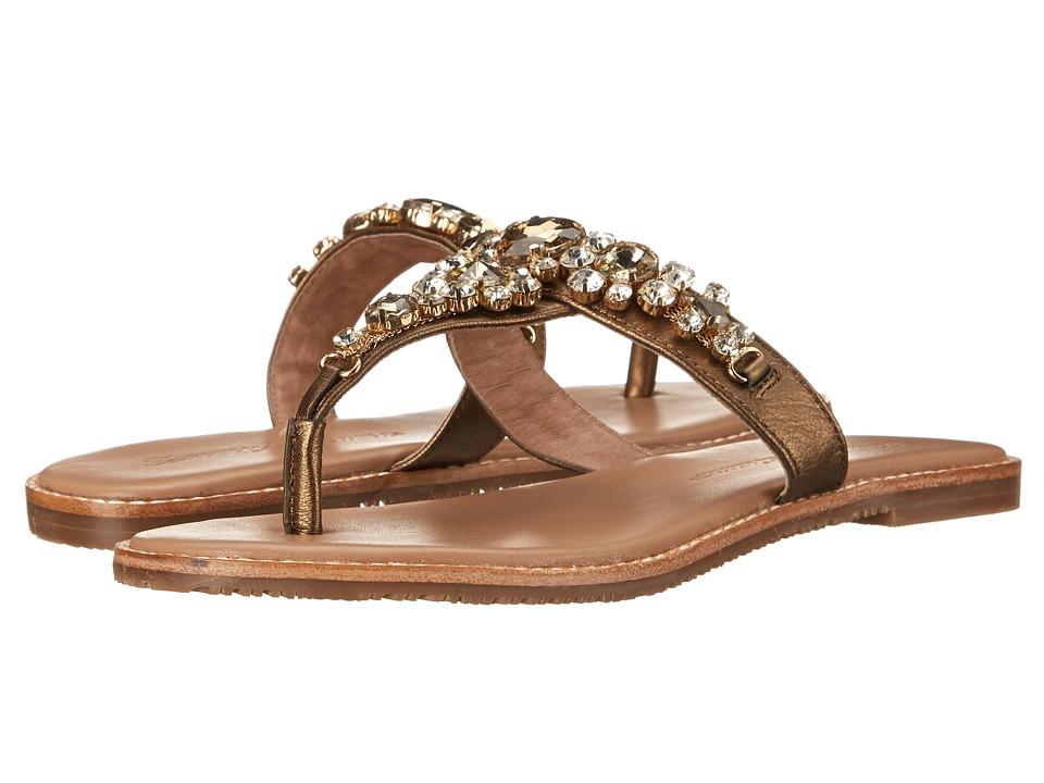 Tommy Bahama Yuri Bronze Womens Dress Sandals