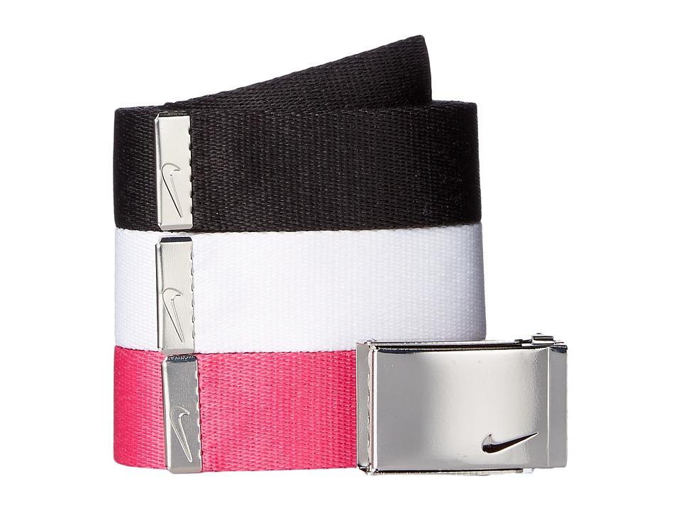 Nike 3-in-1 Web Pack (Black/White/Vivid Pink) Women