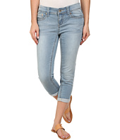 Seven7 Jeans - Skinny Knit Denim Crop in Cirque Blue