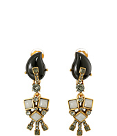Oscar de la Renta - Resin Flower Earrings