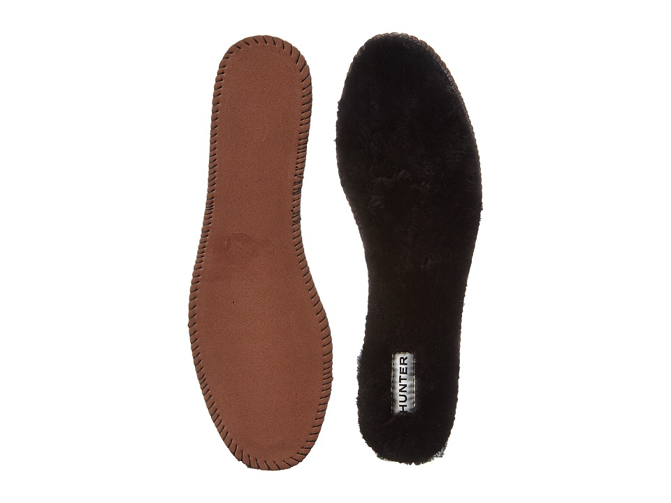 Hunter Luxury Shearling Insoles (Black) Women