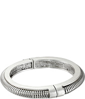 Vince Camuto - Suede Inlay Hinged Bangle