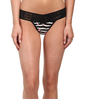 Hanky Panky - Floral Stripe Lowrider Thong