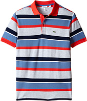 Lacoste Kids - Short Sleeve Multi-Stripe Polo (Infant/Toddler/Little Kids/Big Kids)
