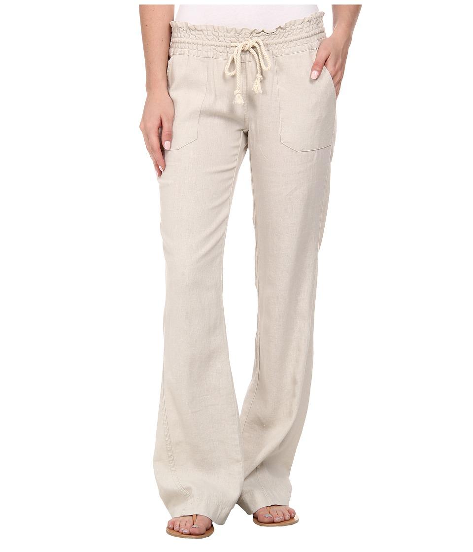 Roxy Ocean Side Pant Stone Womens Casual Pants