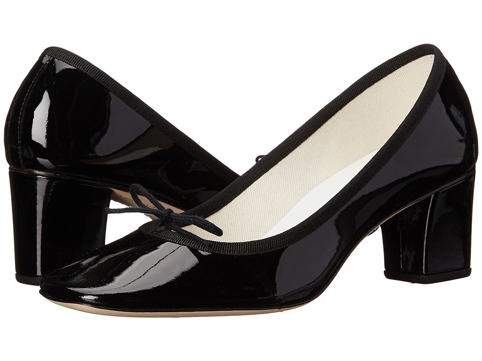 Repetto - Paname (Noir) Womens 1-2 inch heel Shoes