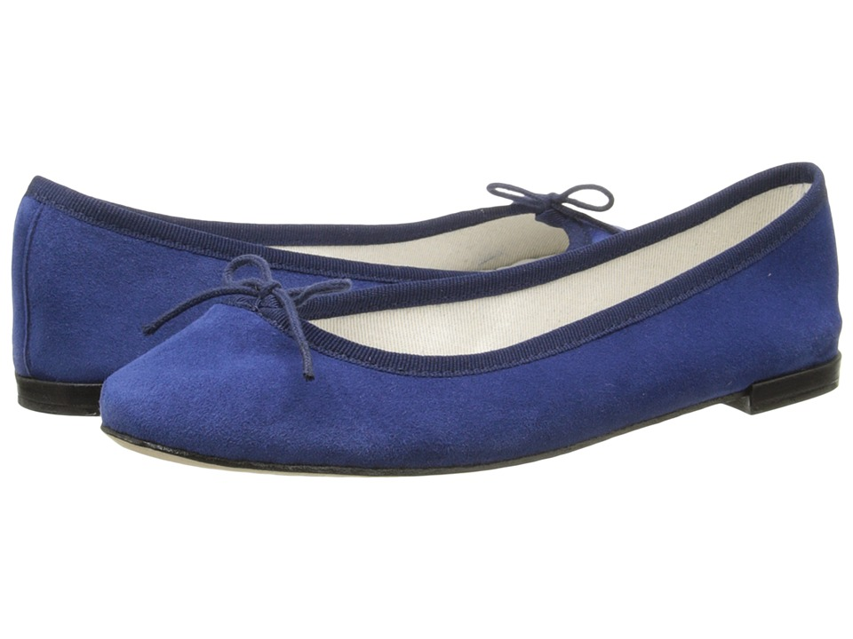 Repetto Cendrillon - Suede Leather (Suede Navy) Flats