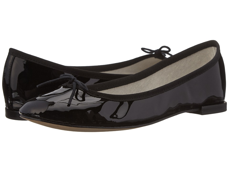 Repetto Cendrillon (Noir 2 (Black 2 Patent Leather)) Flats