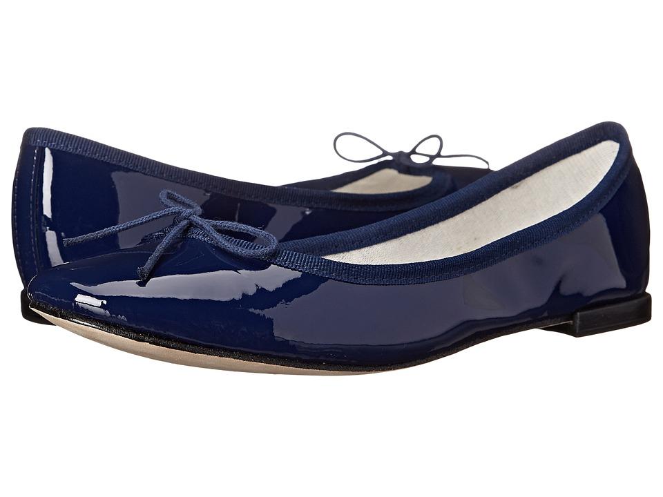Repetto Cendrillon (Navy Patent Leather) Flats