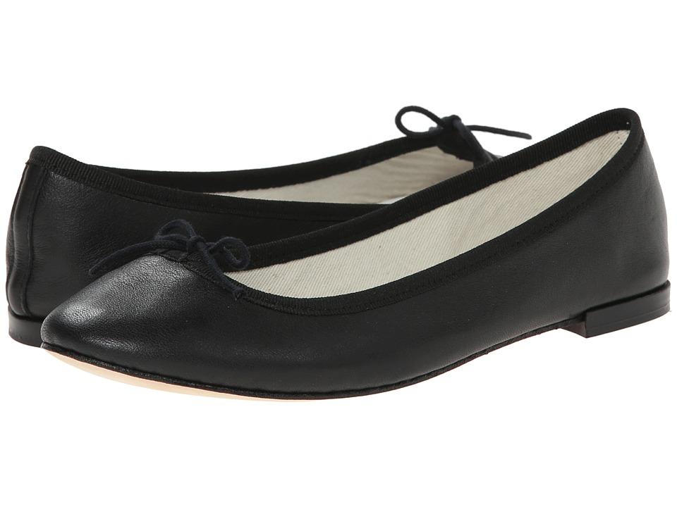 Repetto Cendrillon (Noir ( Black Nappa Calfskin Leather)) Women