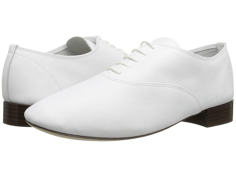 Repetto Zizi F Goatskin White Womens 1 2 inch heel Shoes