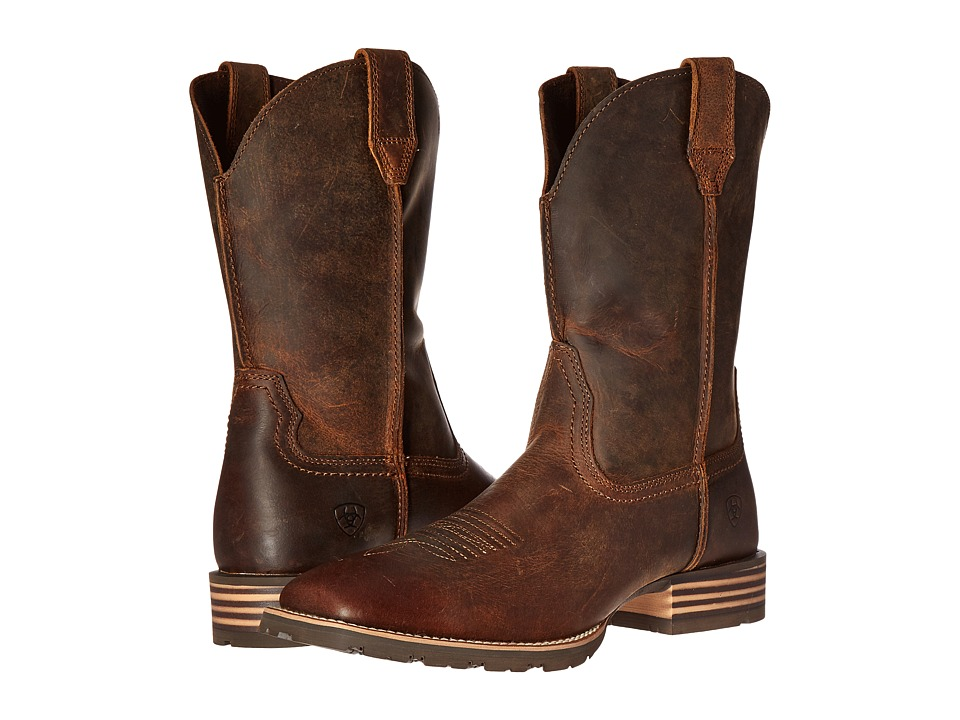 Ariat - Hybrid Street Side (Powder Brown) Cowboy Boots