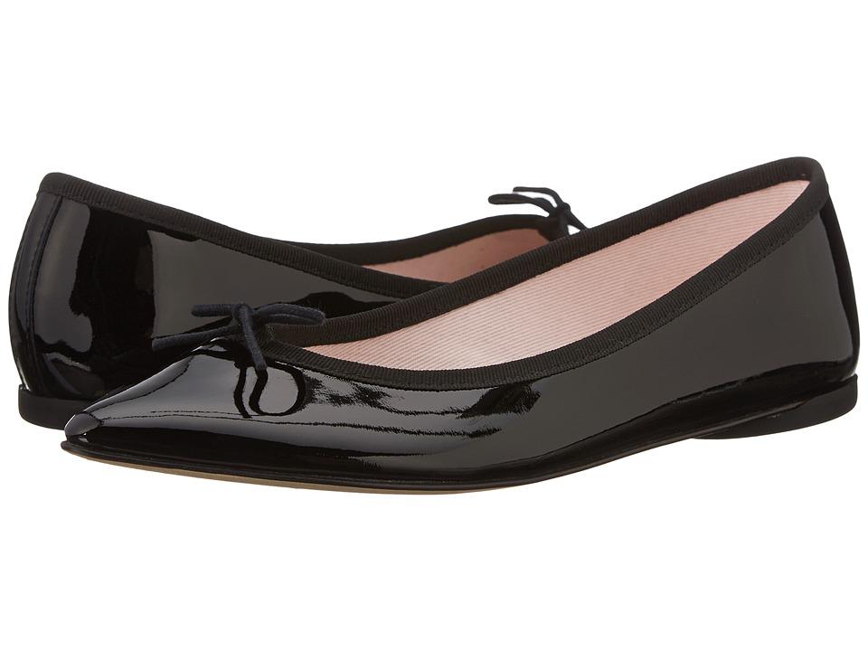 Repetto Brigitte Patent Black Womens Shoes