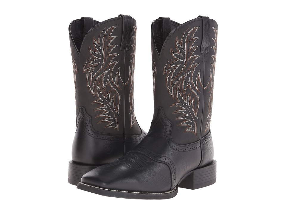 Ariat Sport Western Wide Square Toe Cowboy Boots – Extended Calf Boots