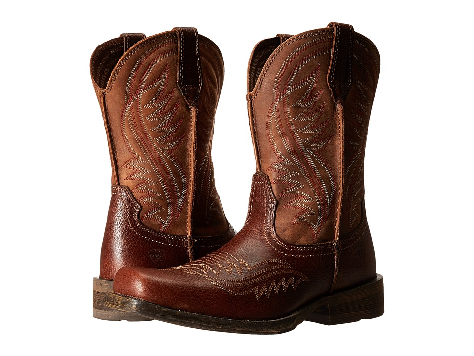 Ariat - Rambler Revival (Plank Brown) Cowboy Boots