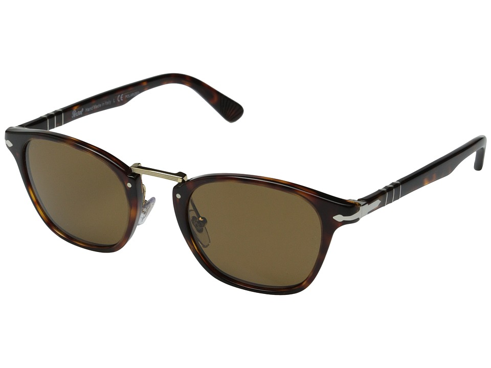 Persol - PO3110S - Polarized (Havana/Brown Polarized) Fashion Sunglasses