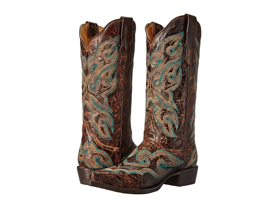 Stetson Jess (Distressed Brown) Women